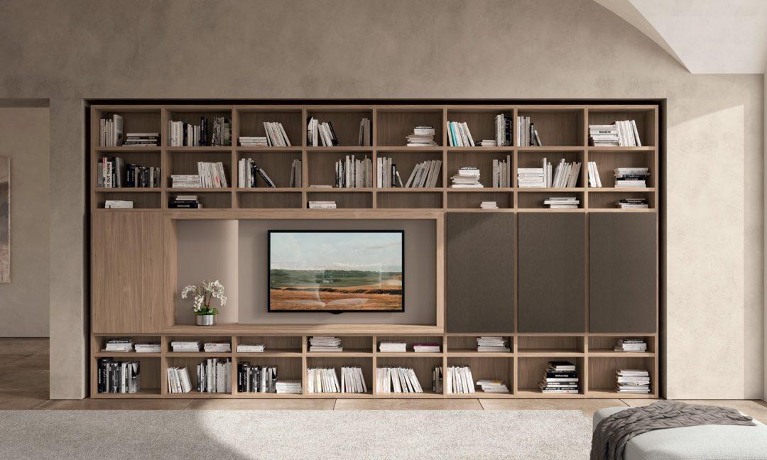 Febal Casa Libreria Trenta 03 per soggiorno 190 191