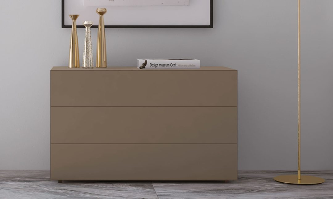 Gala 02 chest of drawers and bedside table Febal Casa