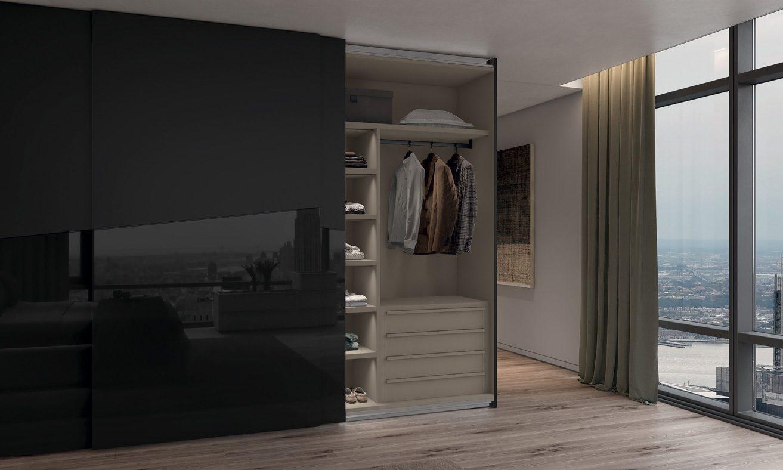 Febal Casa Cassettiera interna con maniglia legno armadio 301